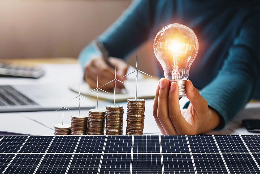 ahorro mediante paneles solares